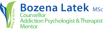 Addiction Counsellors London UK Logo